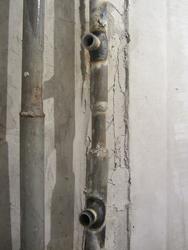 Рисунок 8. Отводы от стояка, зауженный байпас.